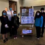 美國華人愛心聯盟ACUC 向紐約州地方政府捐贈抗疫物資
