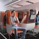 疫後未來搭機旅行 客機座椅可能長這樣?