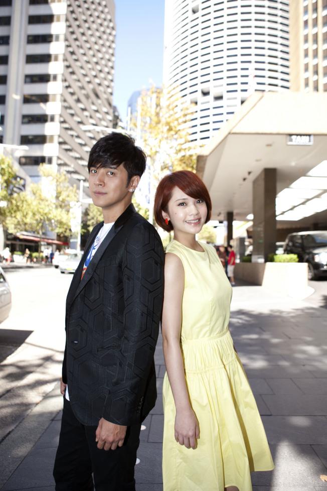 羅志祥和楊丞琳(右)。(圖:天地合提供)