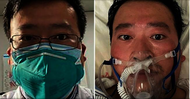 最先披露新冠肺炎疫情的武漢中心醫院醫師李文亮,獲「中國青年五四獎章」。路透