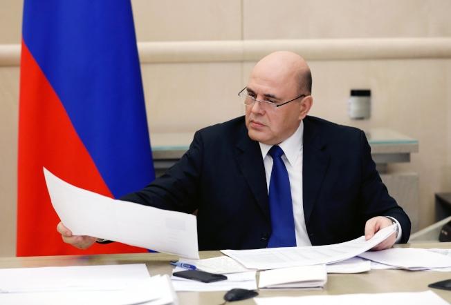 俄羅斯總理米舒斯京(Mikhail Mishustin)。(美聯社)