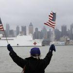 安慰號醫療艦 啟程返航離紐約