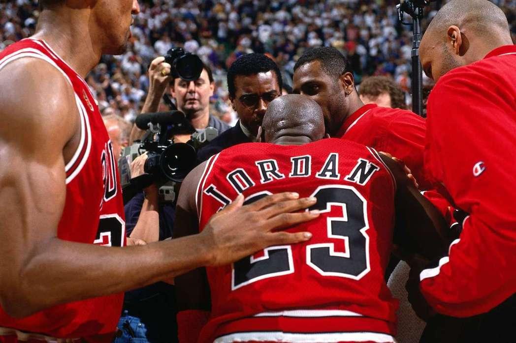近期喬丹的紀錄片「最後之舞」成為體育大事之一。(Getty Images)
