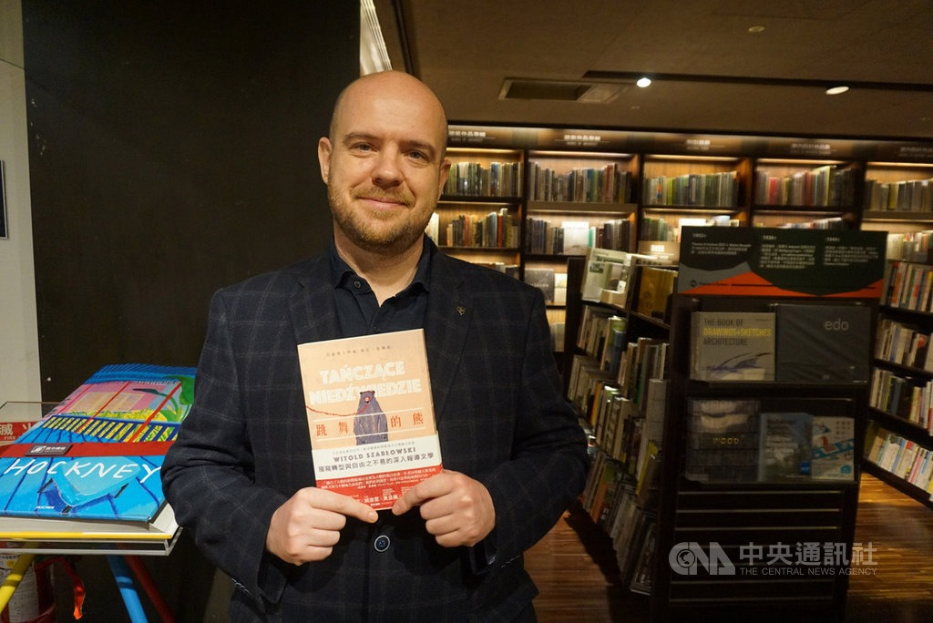 波蘭作家維克多.沙博爾夫斯基。(中央社)
