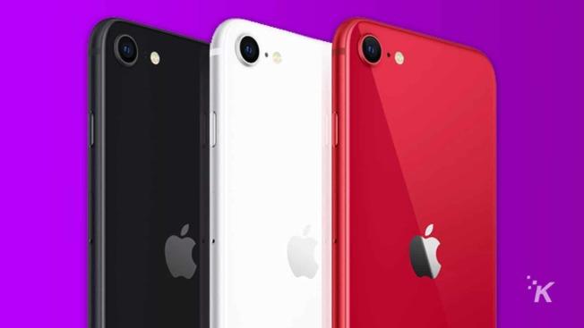 蘋果4月中旬推出的iPhone SE,售價399元,可能影響蘋果今年第二季的收入。(Getty Images)