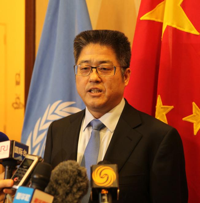 中國外交部副部長樂玉成。(中新社資料照片)