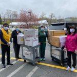 幫幫忙基金會美東分會、世華婦協紐澤西分會 捐防疫物資