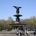 〈圖輯〉春天在中央公園裡  春天在紐約客口罩裡