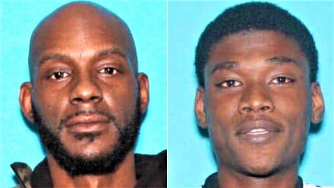 萊利.提逵(Larry Teague,左)與畢夏普(Ramonyea Bishop,右)。(見尼斯郡檢察官辦公室)