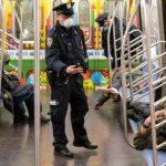 快看世界/停運消毒第一天!紐約地鐵變這樣
