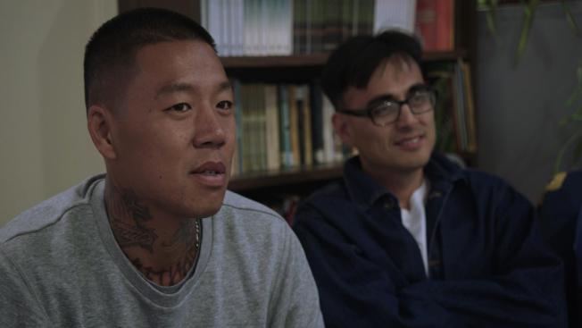 San Quentin州立監獄開展針對亞裔的「Restoring Our Original True Selves」項目。(PBS提供)