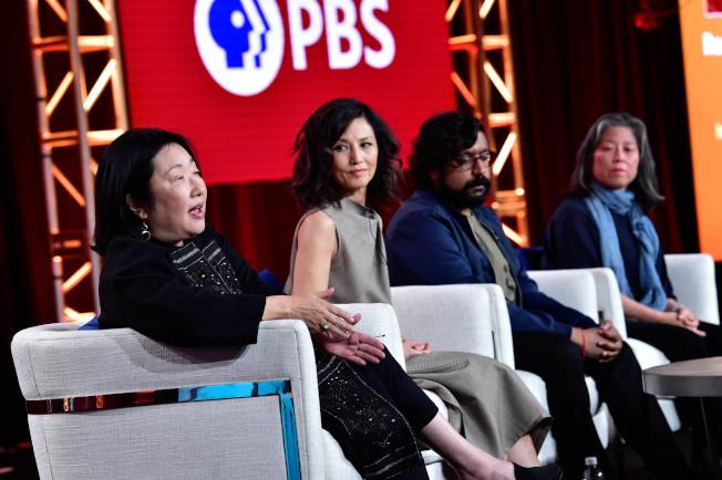 《亞裔美國人》紀錄片座談會,多位主創人員參加。(PBS提供)