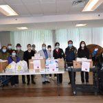 亞裔文化月 費城僑界送中餐給養老院