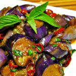 料理功夫|塔蔥燒紫茄