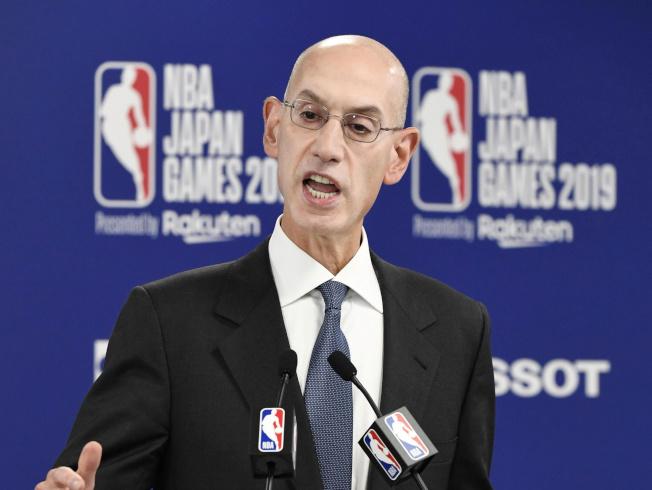 NBA主席席佛研擬復賽方案,但細節仍有許多討論空間。(路透)