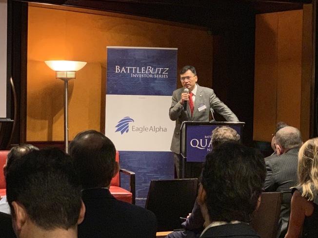陳凱豐說,人們可以考慮投資高科技、製藥和遠程教育類的股票。(陳凱豐提供)