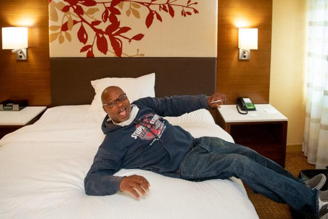 房間鑰匙計畫(Project Roomkey)在南加州實施逾月,遊民們的居住條件好到旅館業主都咂舌。(取自洛縣政府網站)