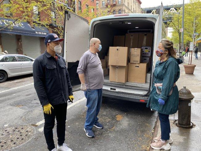 當天主辦方共送出550份餐點。(主辦方提供)
