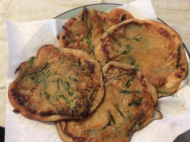 簡易蔥油餅