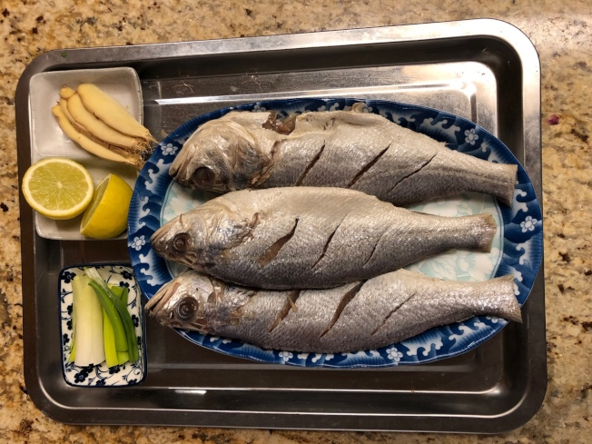 香煎黃魚材料