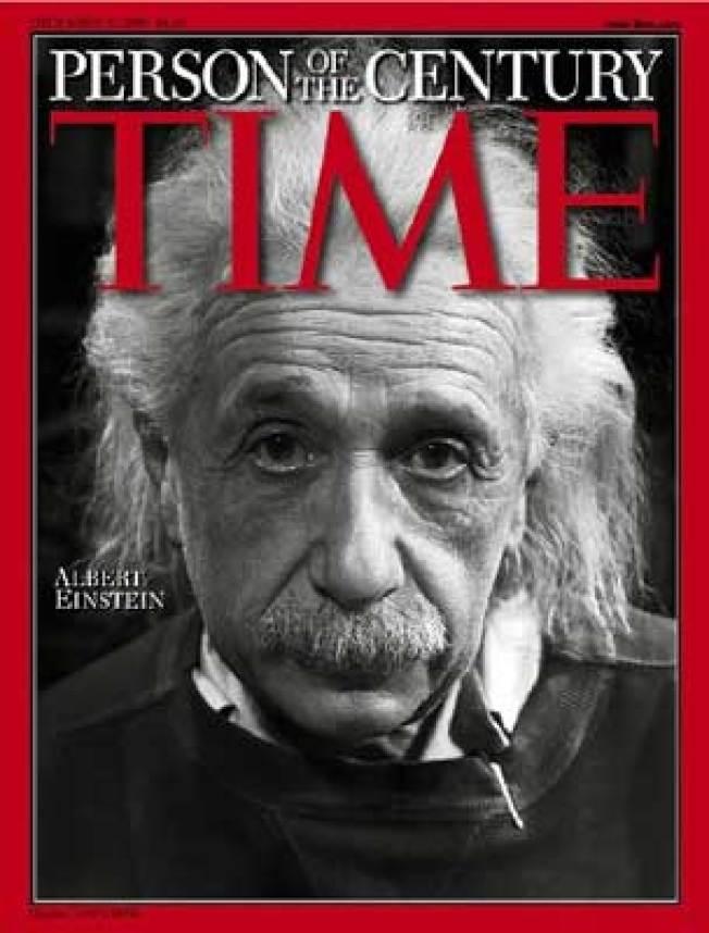 No. 2 愛因斯坦是二十世紀最著名的猶太科學家,1999年年底獲《時代雜誌》評選為世紀風雲人物。