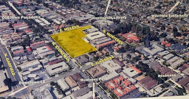 Pacific Villa Place位於北Stoneman道和東Mclean街交界處。(開發商提供)