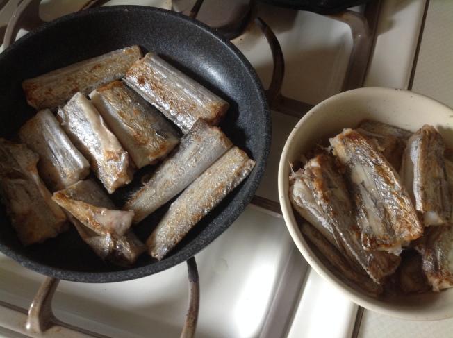 薑汁帶魚材料
