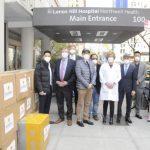陽光保險集團為紐約抗疫雪中送炭
