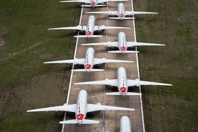 新聞眼│機場跑道停滿 全球16000架停飛客機還能停哪?