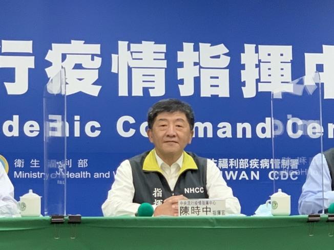 陳時中說,希望台灣的經驗,可以成為台灣的模式,成為自由民主的必須,成為可以成為一個更好的防疫的典範。記者陳雨鑫/攝影