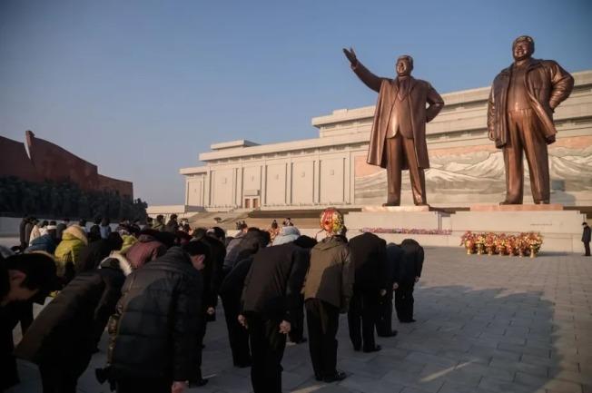 金正恩對北韓人民來說就像「神」一樣的存在。(Getty Images)