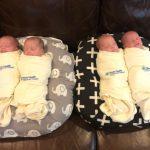 罕見四胞胎全體出院 疫情添溫馨
