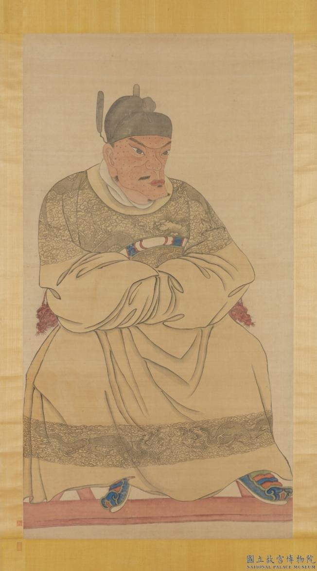 故宮「明太祖坐像」列國寶 揭朱元璋「醜畫」之謎