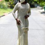 抗疫也要美美的 非洲設計師把口罩變時尚了