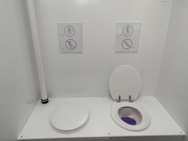 世界上最為奇特的如廁方式。
