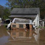 連日豪雨 密西根2水壩決堤 萬人撤離 全州進入緊急狀態