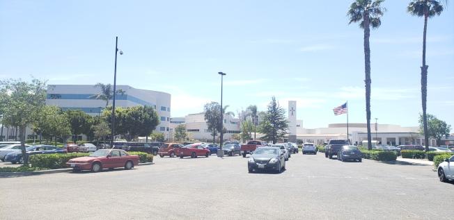 奧克斯納聖約翰醫院。(記者鄭敖天/攝影)