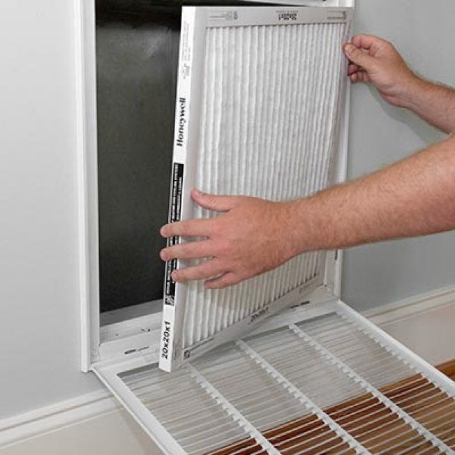 民眾最好選擇能夠適配自家空調的濾網中,MERV級別最高的。(圖片取自HomeDepot官網)