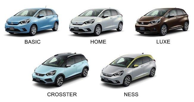 具備多元車型可選的全新第四代Honda Fit,則以月銷售8,977輛排行第二。(Honda提供)