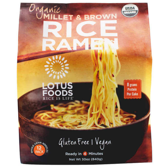 Organic Millet & Brown Rice Ramen 圖/ costco.com