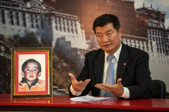 根敦確吉尼瑪幼年照片。(取材自藏人行政中央官網)