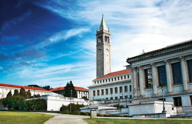圖為柏克萊加大校園。(Getty Images)