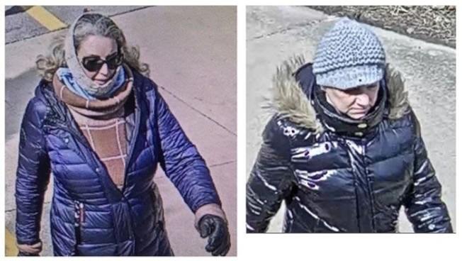 兩名白人婦女涉嫌無故攻擊一名華男。(瑞柏市警察局)