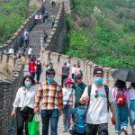 保持社交距離 北京放寬戴口罩規定