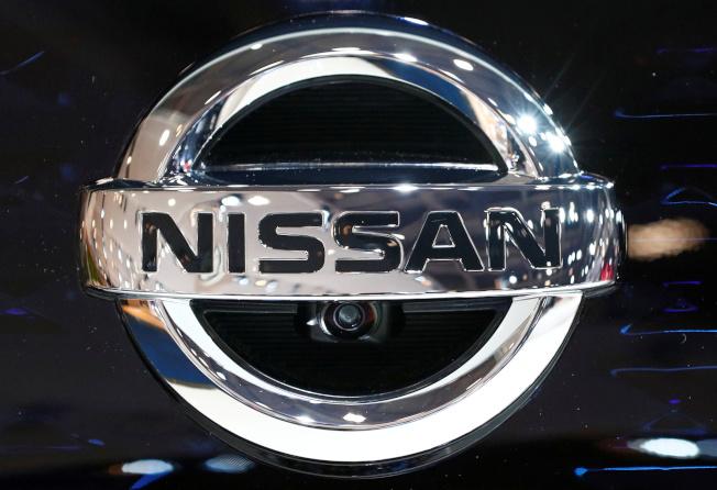日產汽車商標。(路透)
