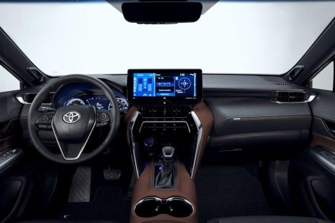 全新Toyota Venza內裝。(取自Toyota)