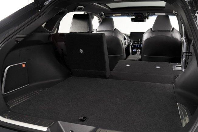全新Toyota Venza後座提供60/40分離功能。(取自Toyota)