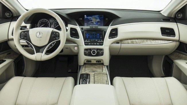 Acura RLX搭載了更高等級的用料、科技配備。(Acura提供)
