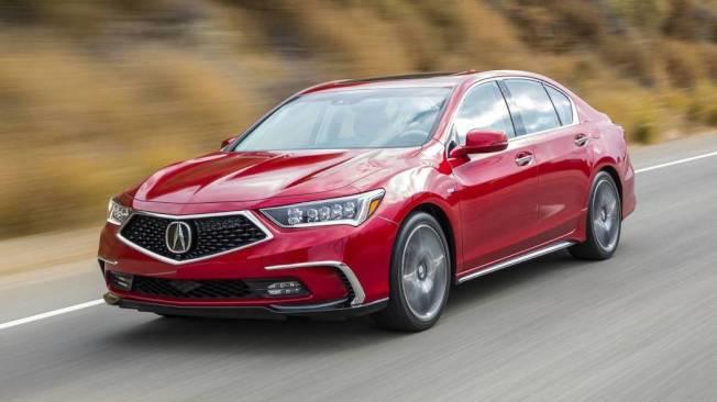 SUV當道,Acura旗下的RLX四門房車的銷量逐年下降。(Acura提供)
