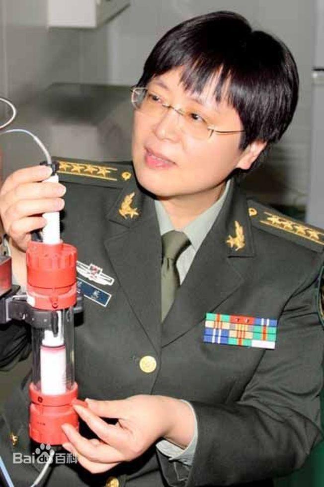 中國工程院院士陳薇。(取材自百度百科)